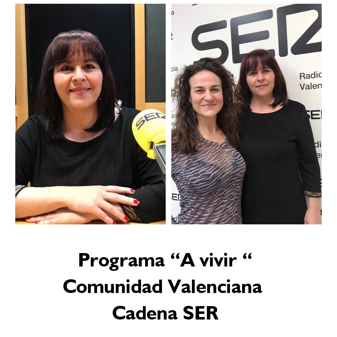 """En el programa de la Cadena Ser """"A vivir Comunidad Valenciana"""""""